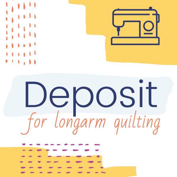 Deposit for LA Quilting